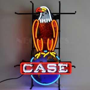 CASE EAGLE INTERNATIONAL HARVESTER NEON SIGN