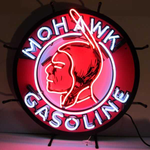 GAS - MOHAWK GASOLINE NEON SIGN