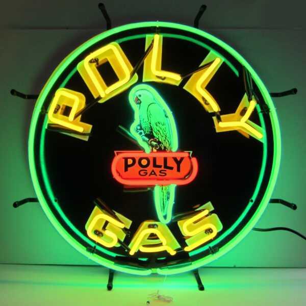GAS - POLLY GAS NEON SIGN