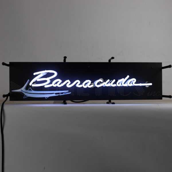 BBARRACUDA JUNIOR NEON SIGN WITH BACKING