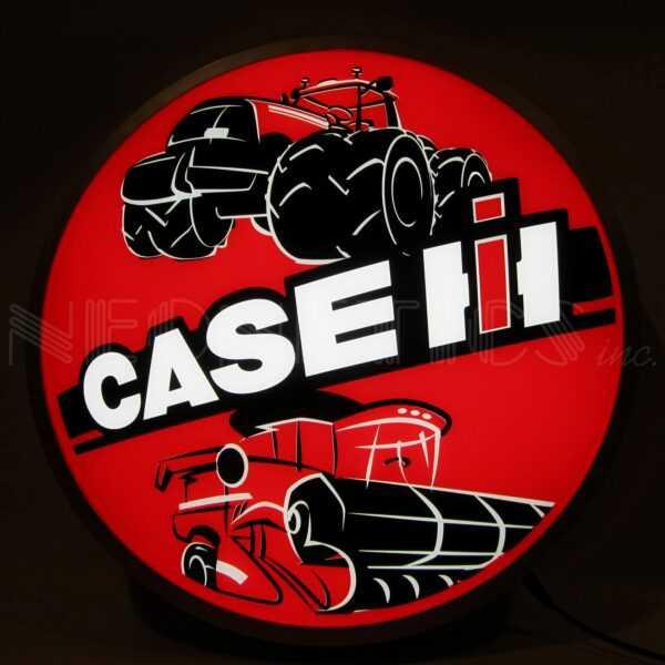 CASE IH INTERNATIONAL HARVESTER TRACTORS 15 INCH BACKLIT LED LIGHTED SIGN