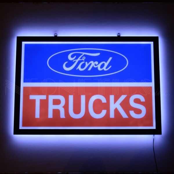 FORD TRUCKS SLIM LED SIGN