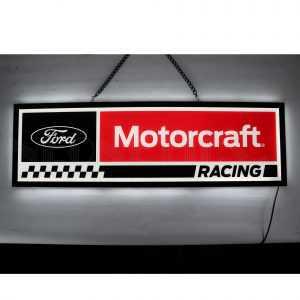 FORD MOTORCRAFT RACING SLIM LED SIGN