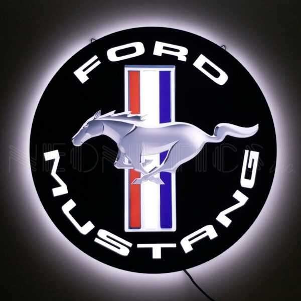 FORD MUSTANG SLIM LED SIGN