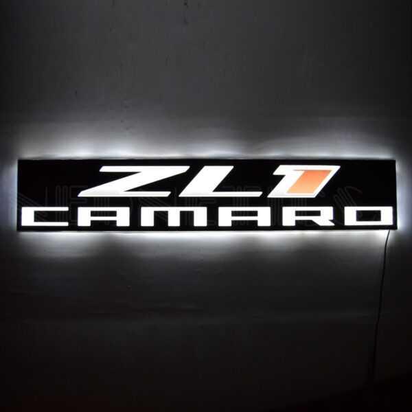 ZL1 CAMARO SLIM LED SIGN