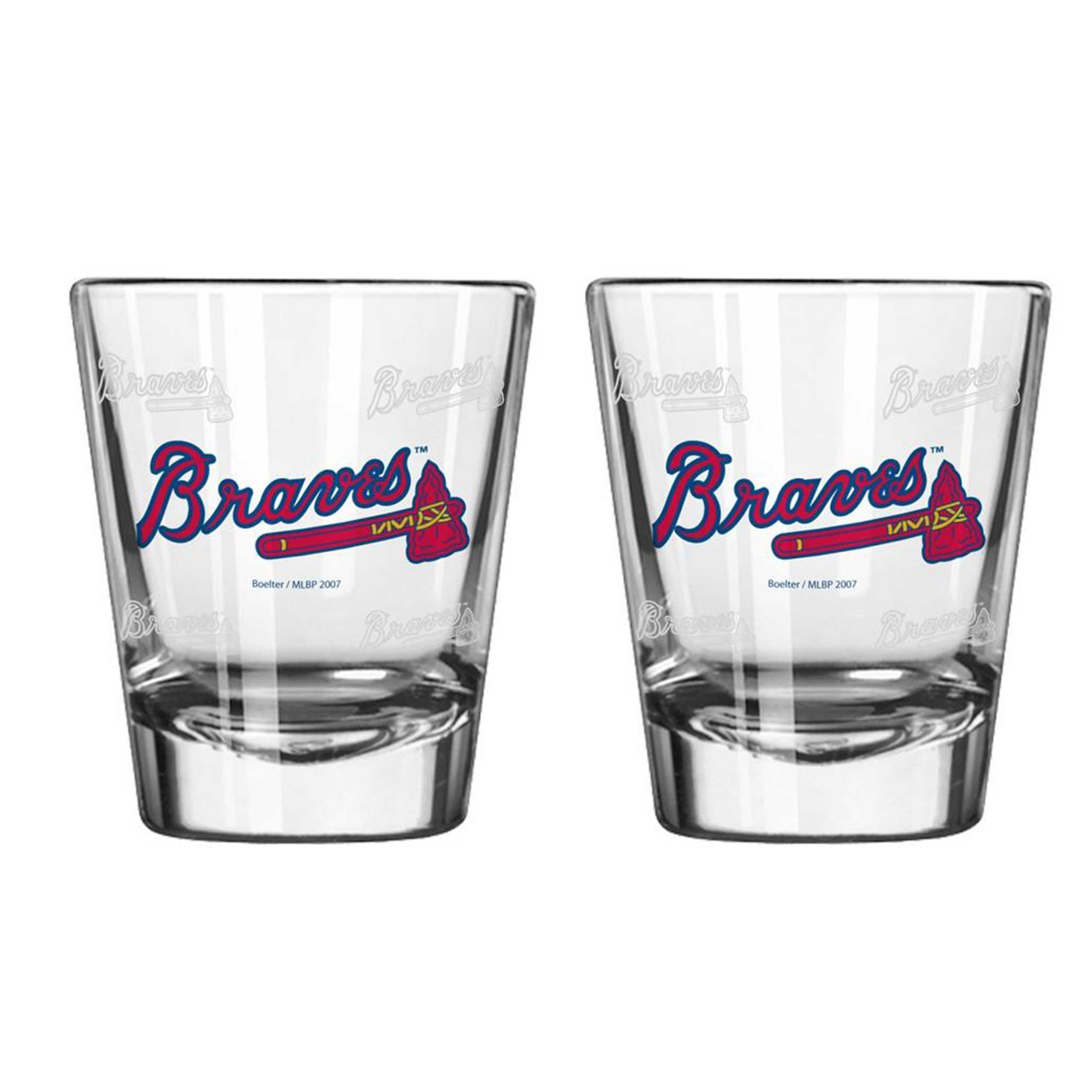 Sports Shot Glass Atlanta Braves