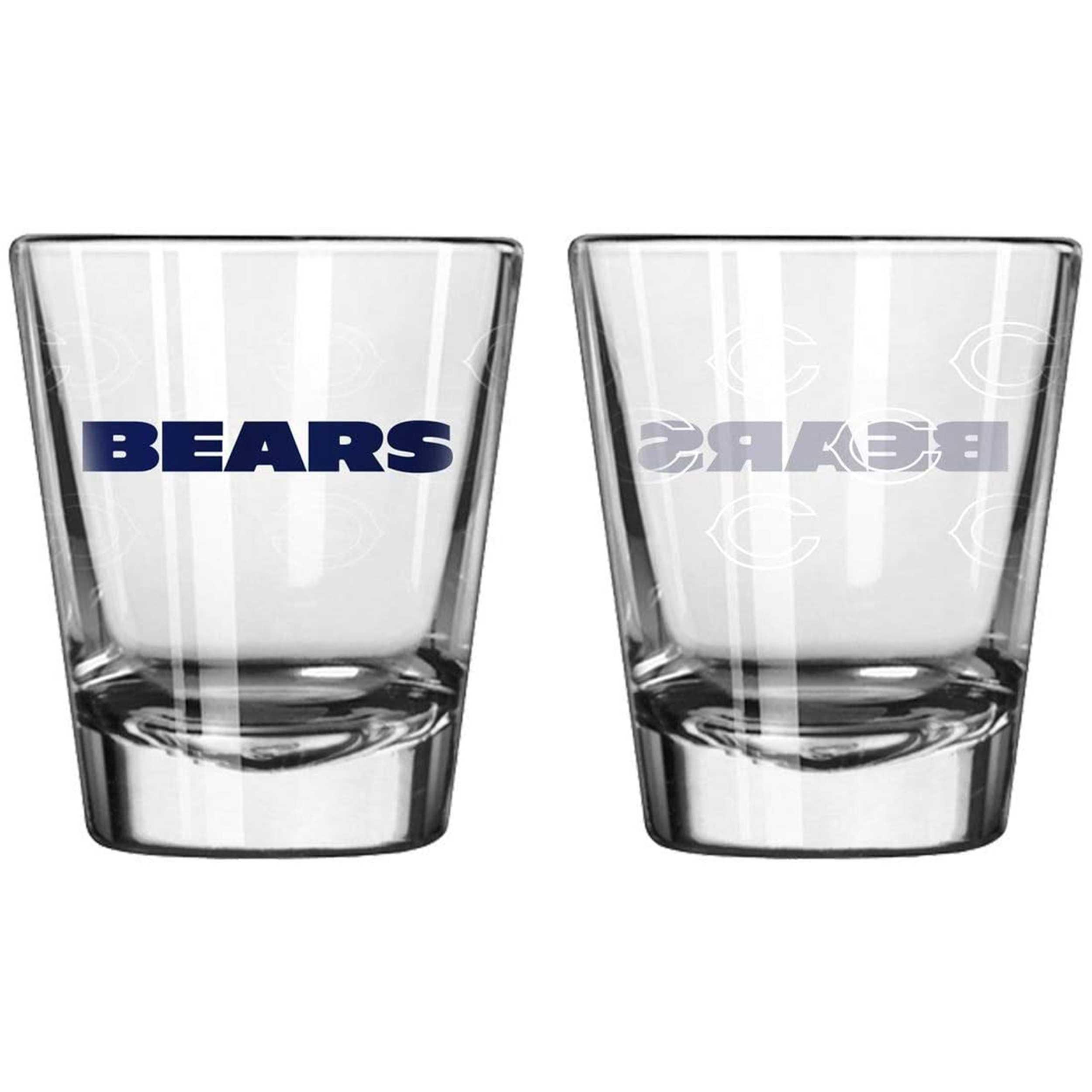 Sports Shot Glass Chicago Bears