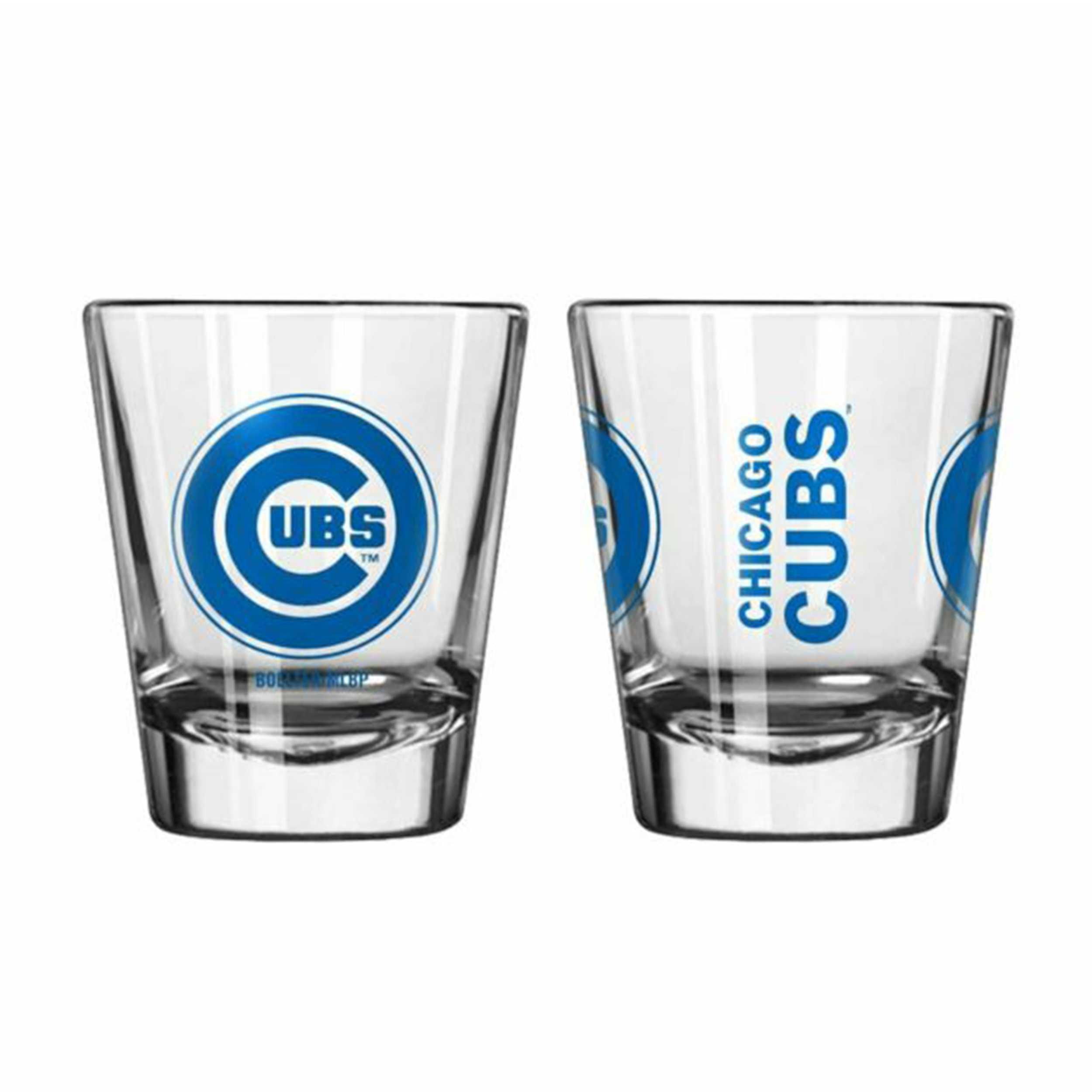 Sports Shot Glass Chicago Cubs