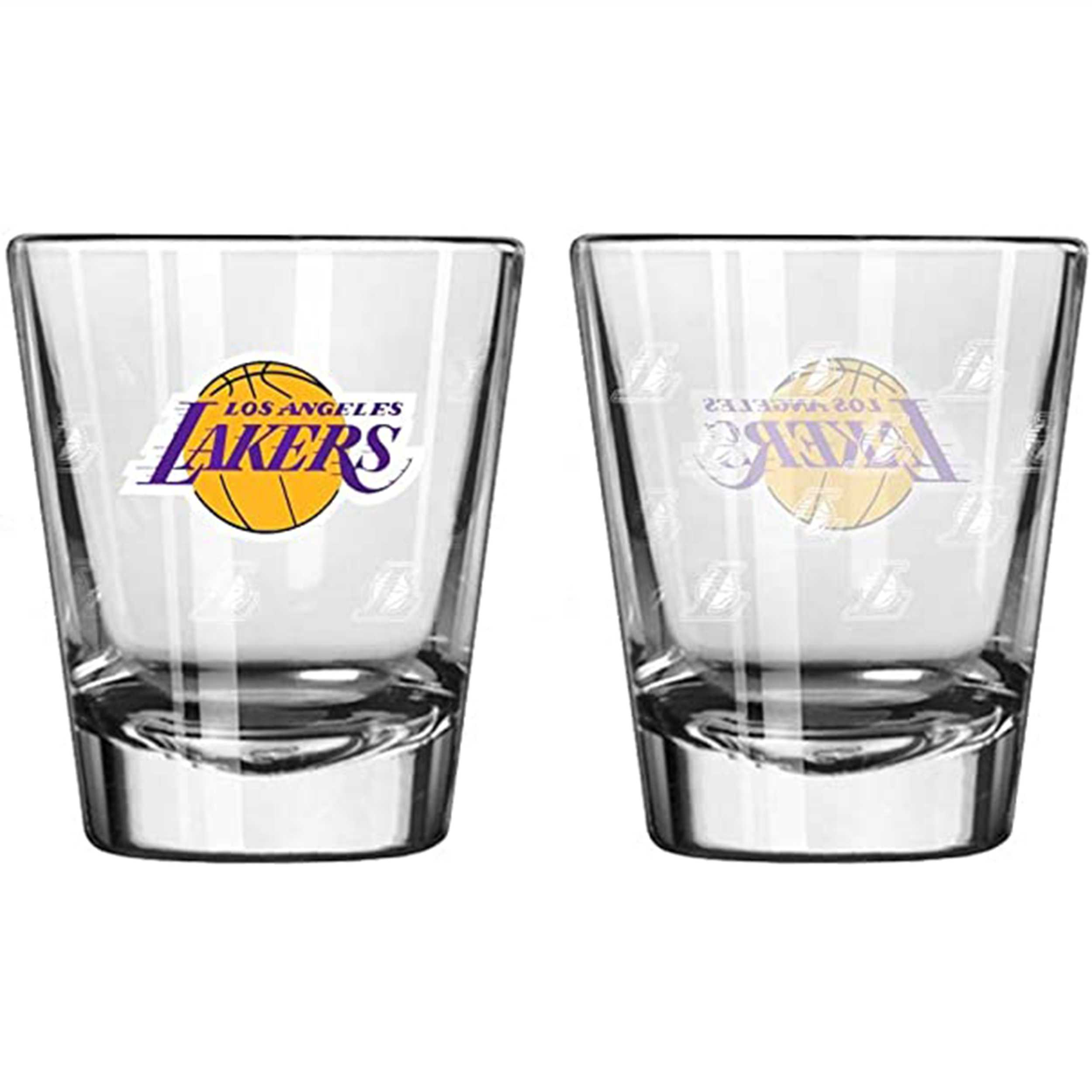 Sports Shot Glass Los Angeles Lakers
