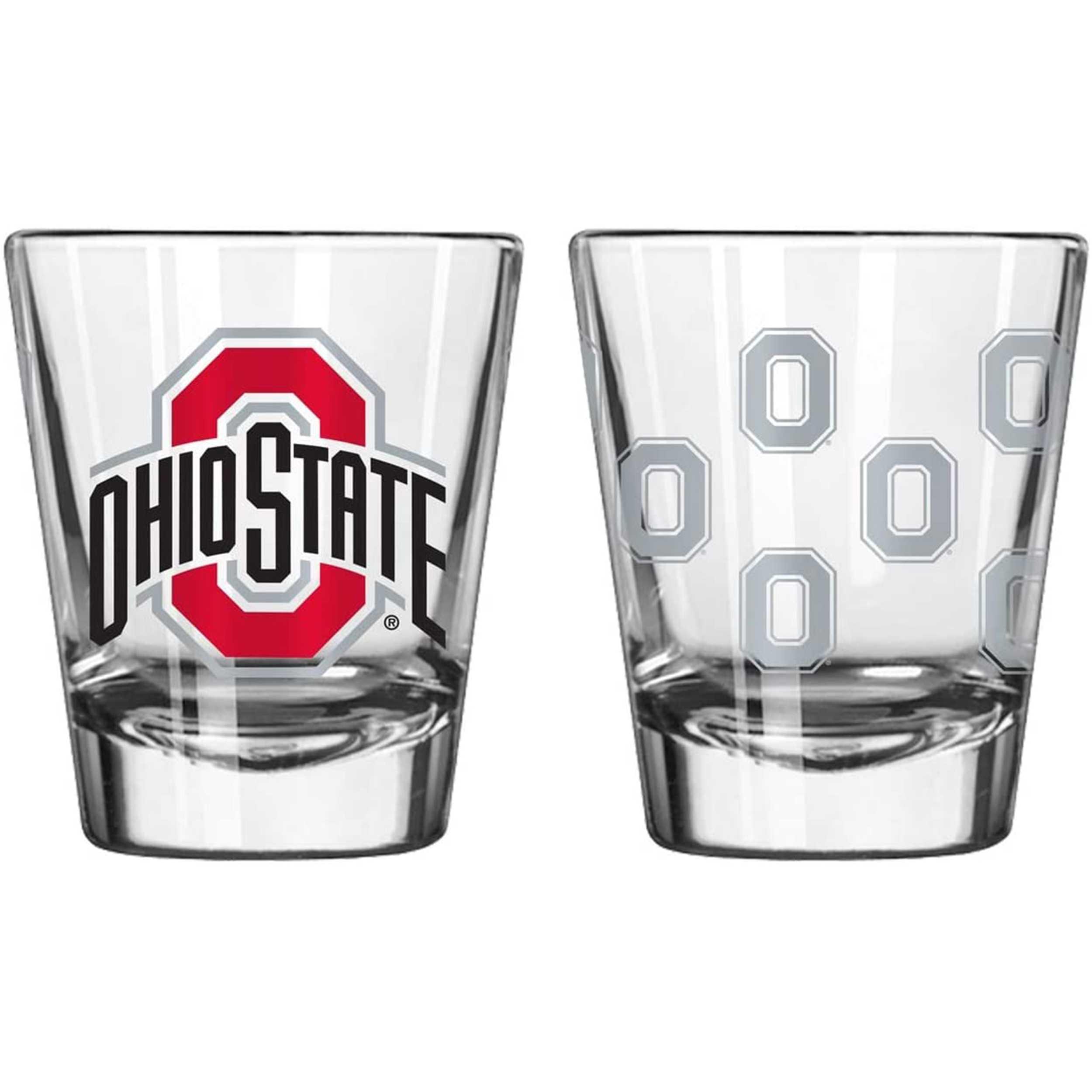Sports Shot Glass Ohio State Buckeyes