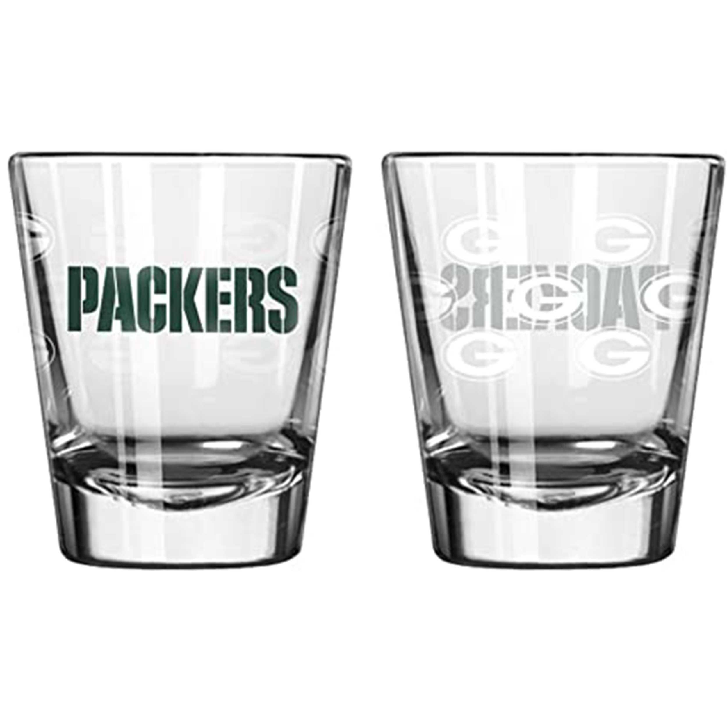Sports Shot Glass Green Bay Packers
