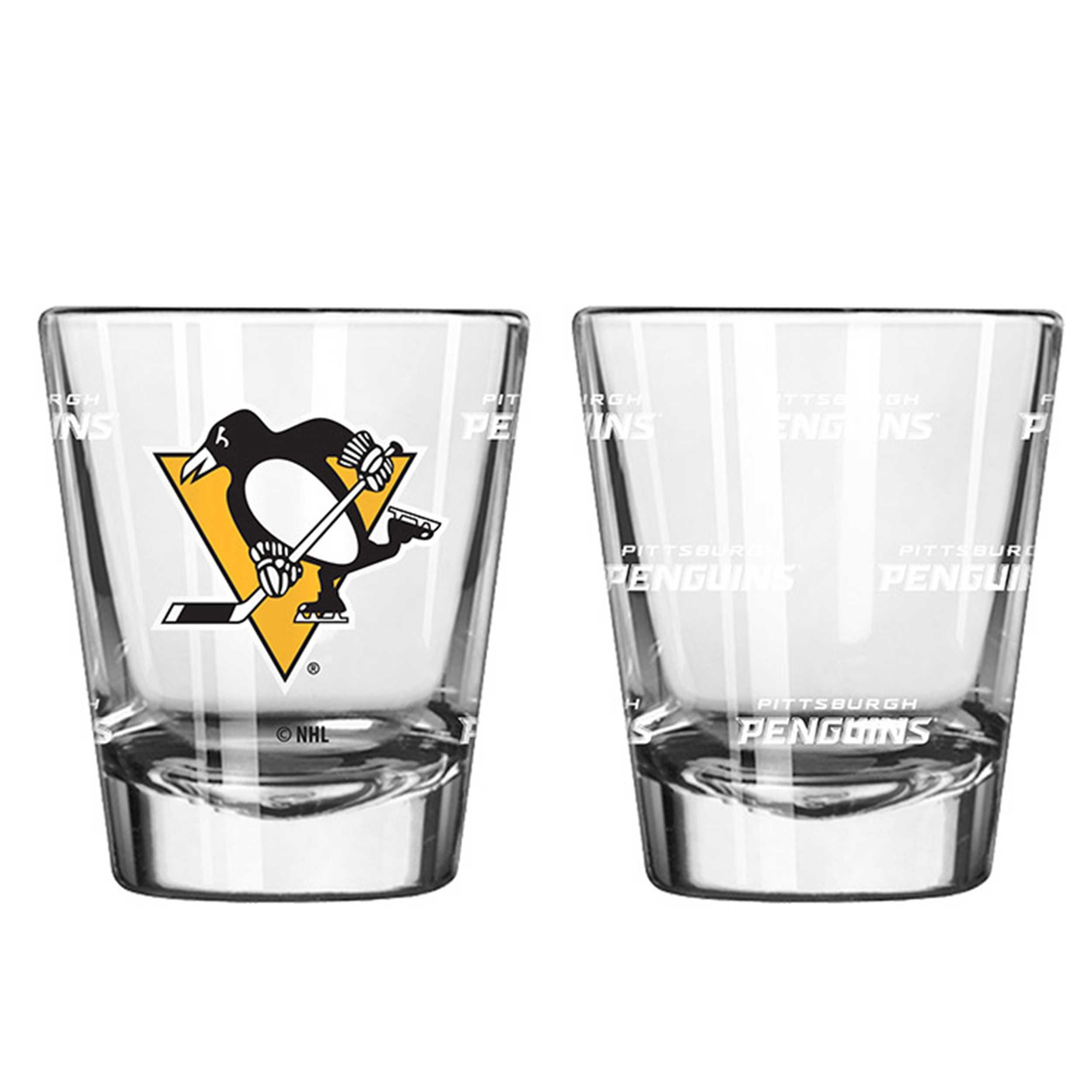 Sports Shot Glass Pittsburgh Penguins