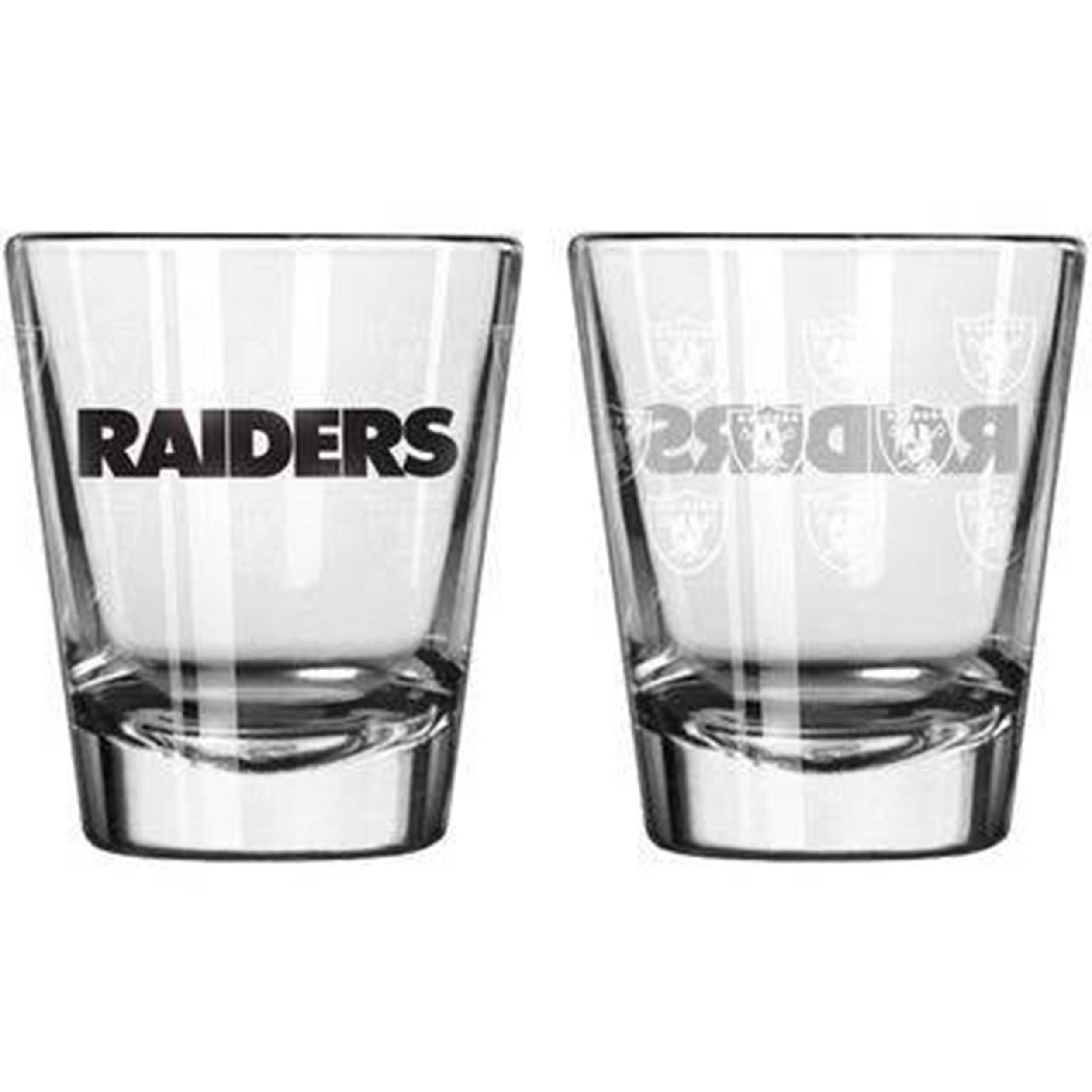 Sports Shot Glass Oakland Raiders
