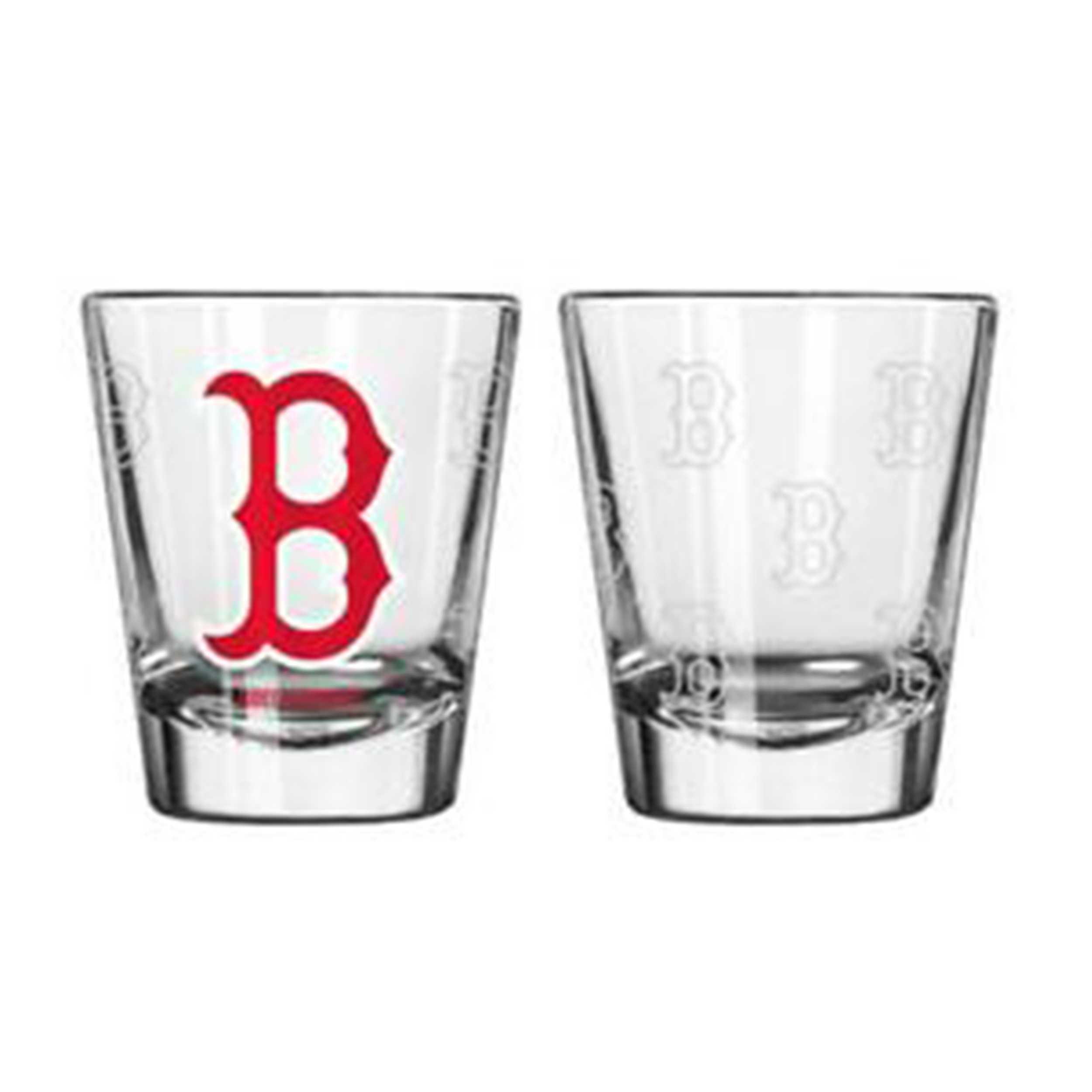 Sports Shot Glass Boston Red Sox