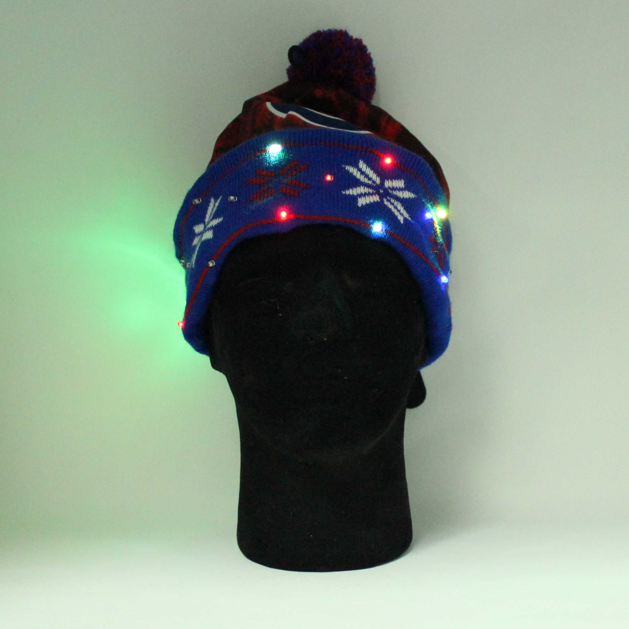 Sports Light Up Led Beanie Chicago Cubs