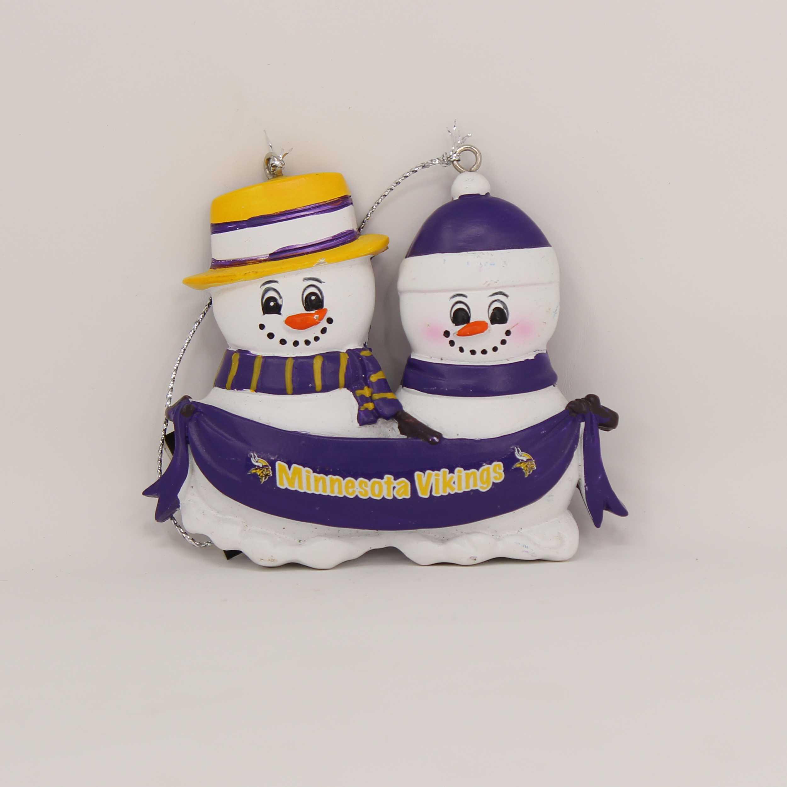 Personalized Family Ornament Minnesota Vikings
