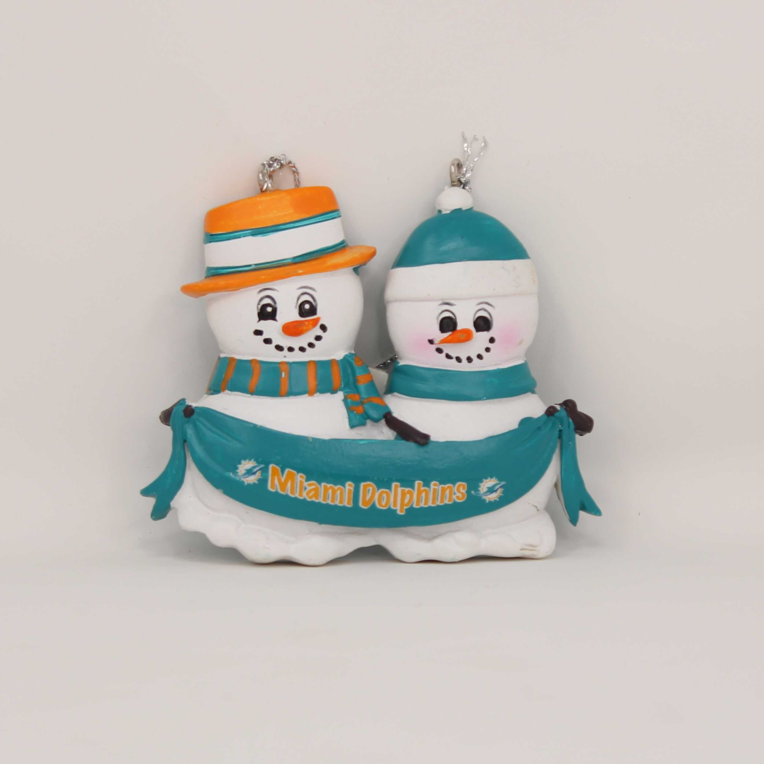 Personalized Family Ornament Miami Dolphins