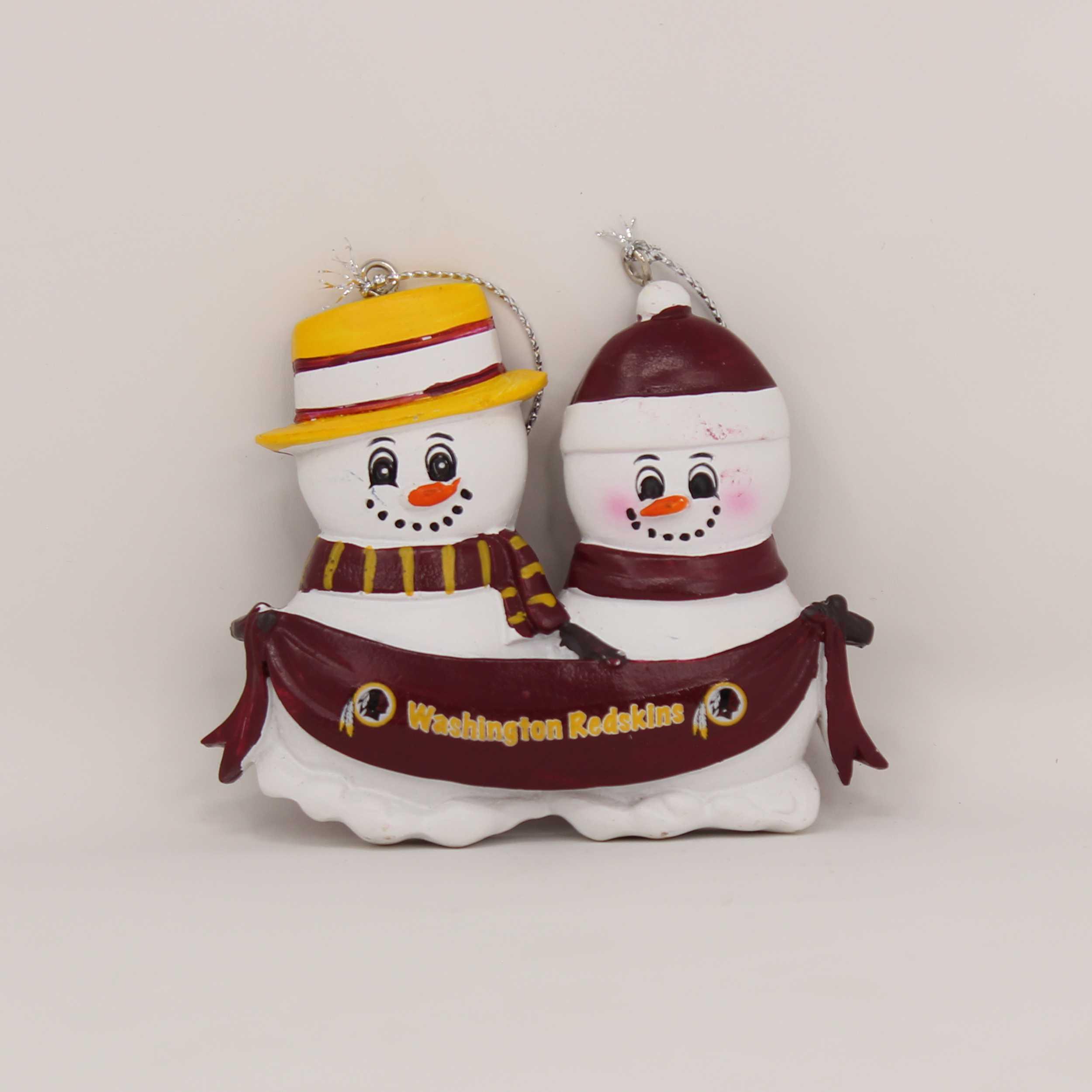 Personalized Family Ornament Washington Redskins