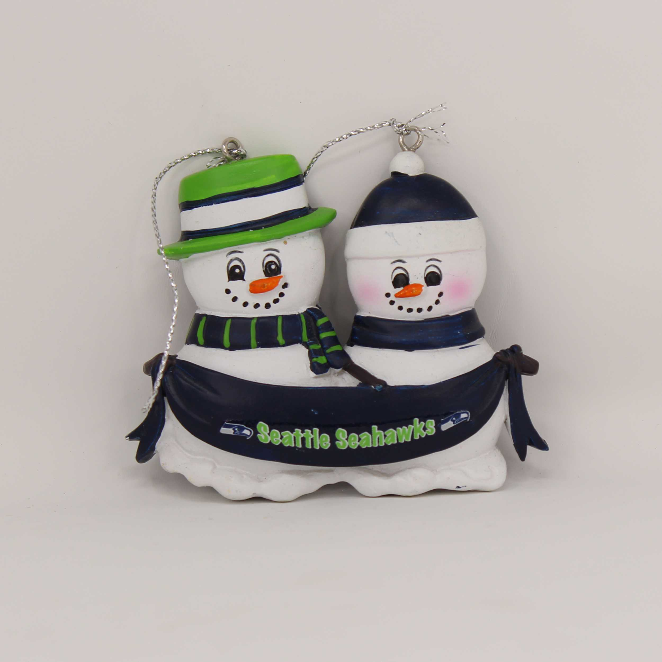Personalized Family Ornament Seattle Seahawks
