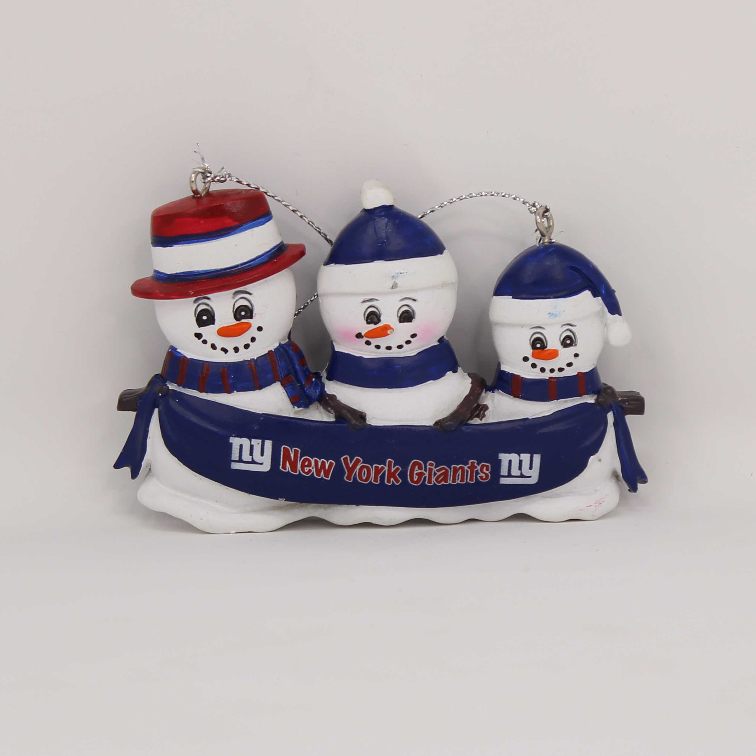 Personalized Family Ornament New York Giants