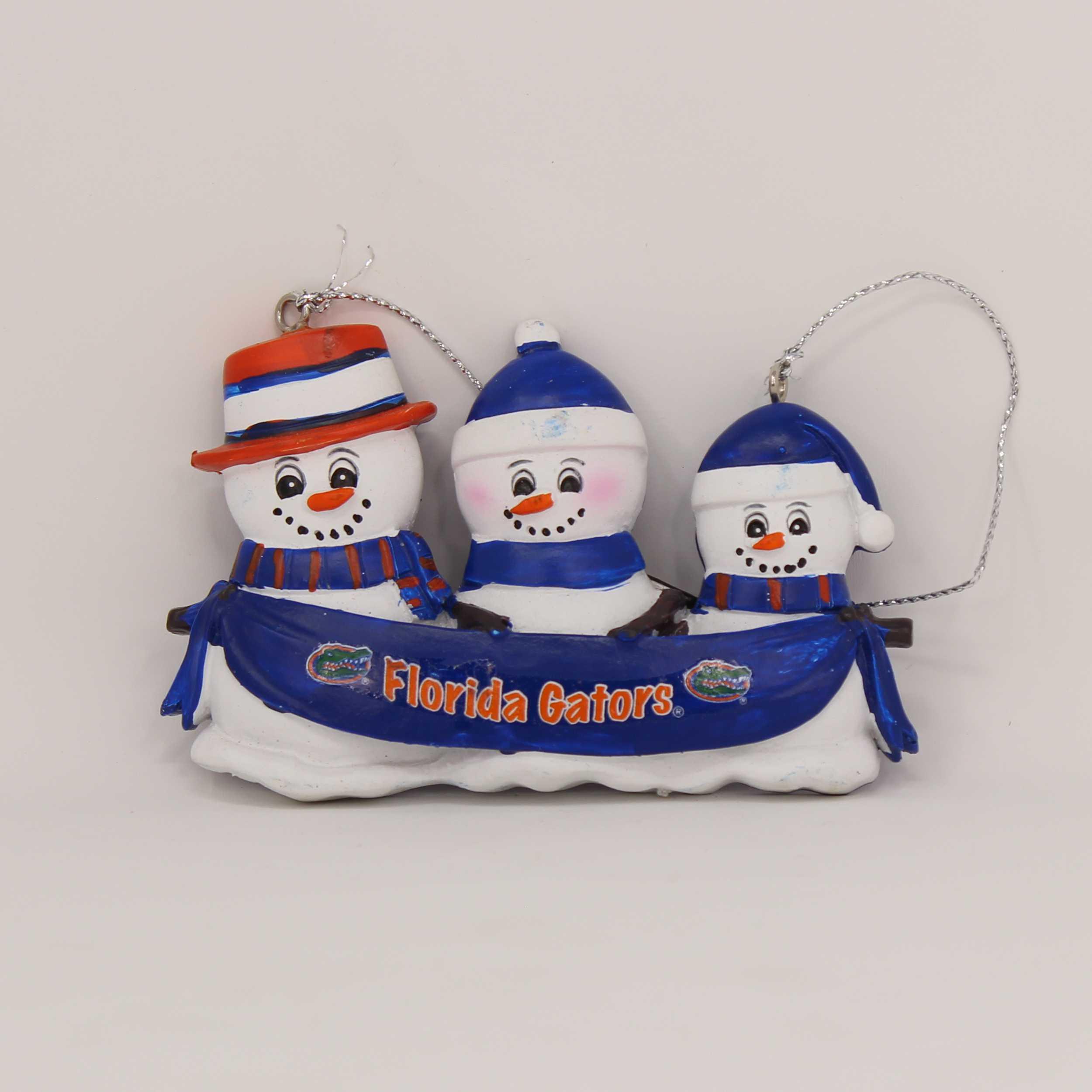 Personalized Family Ornament Florida Gators