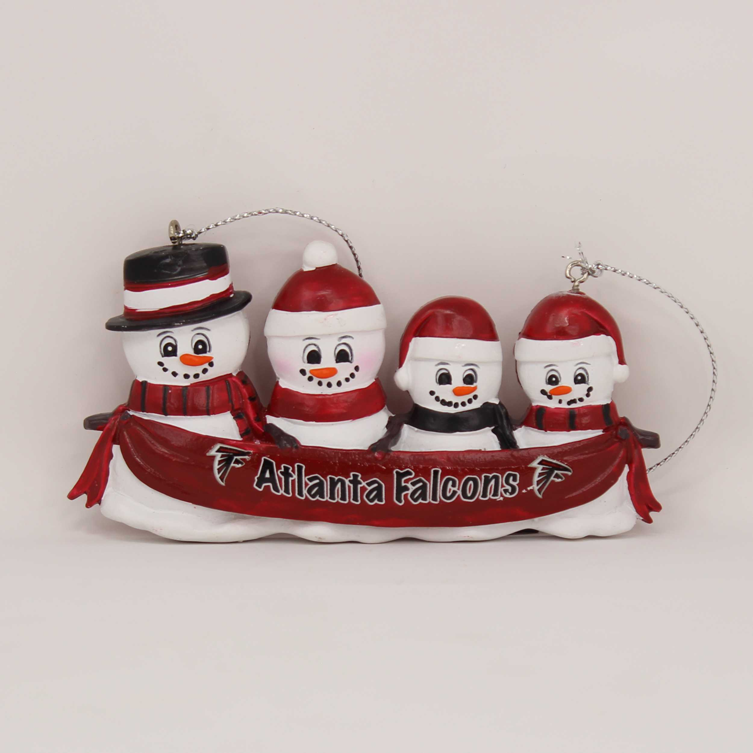 Personalized Family Ornament Atlanta Falcons