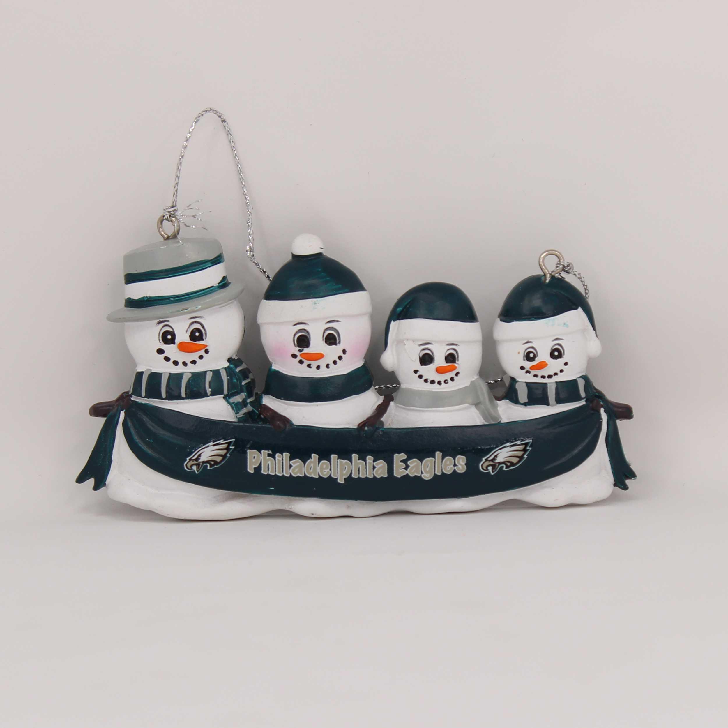 Personalized Family Ornament Philadelphia Eagles