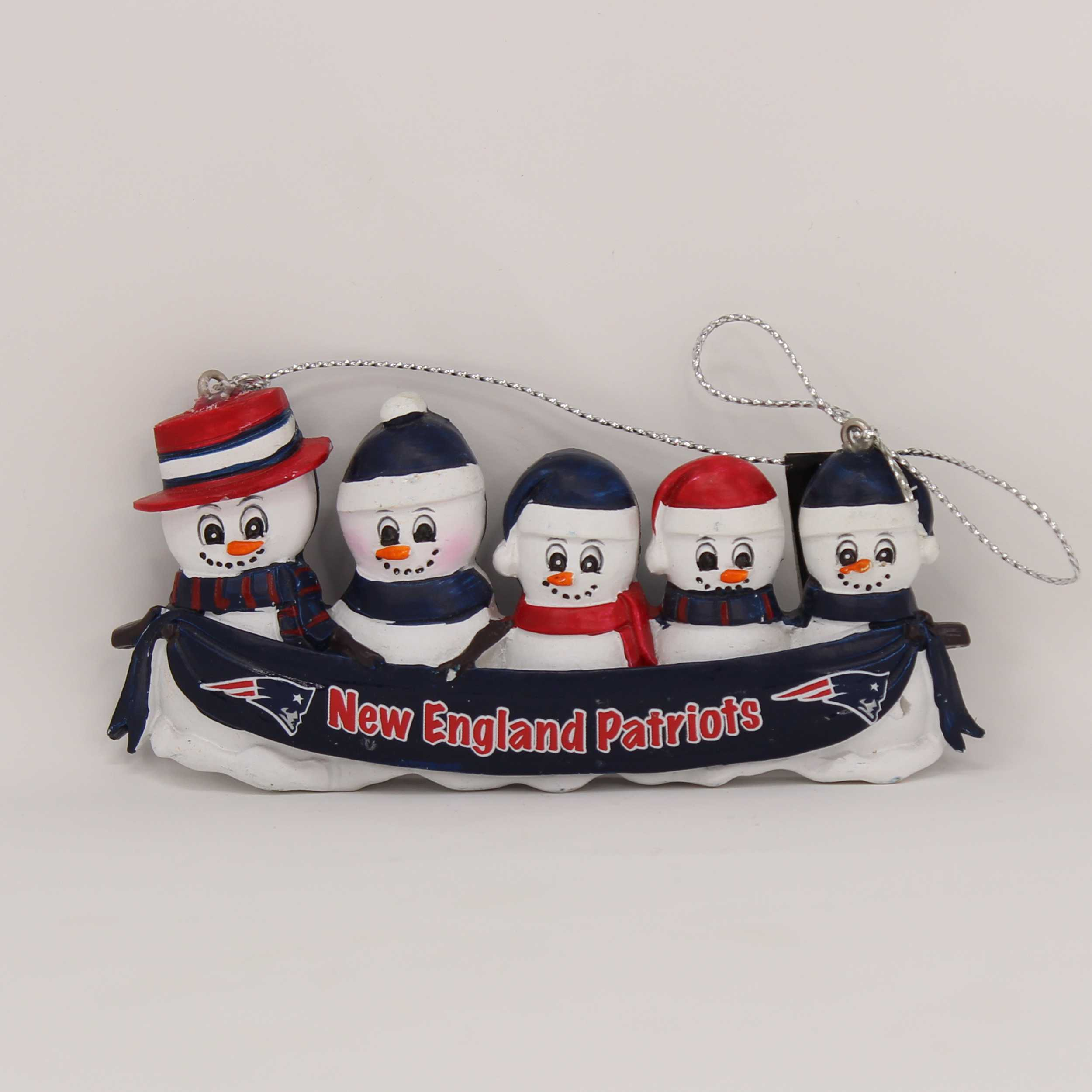 Personalized Family Ornament New England Patriots
