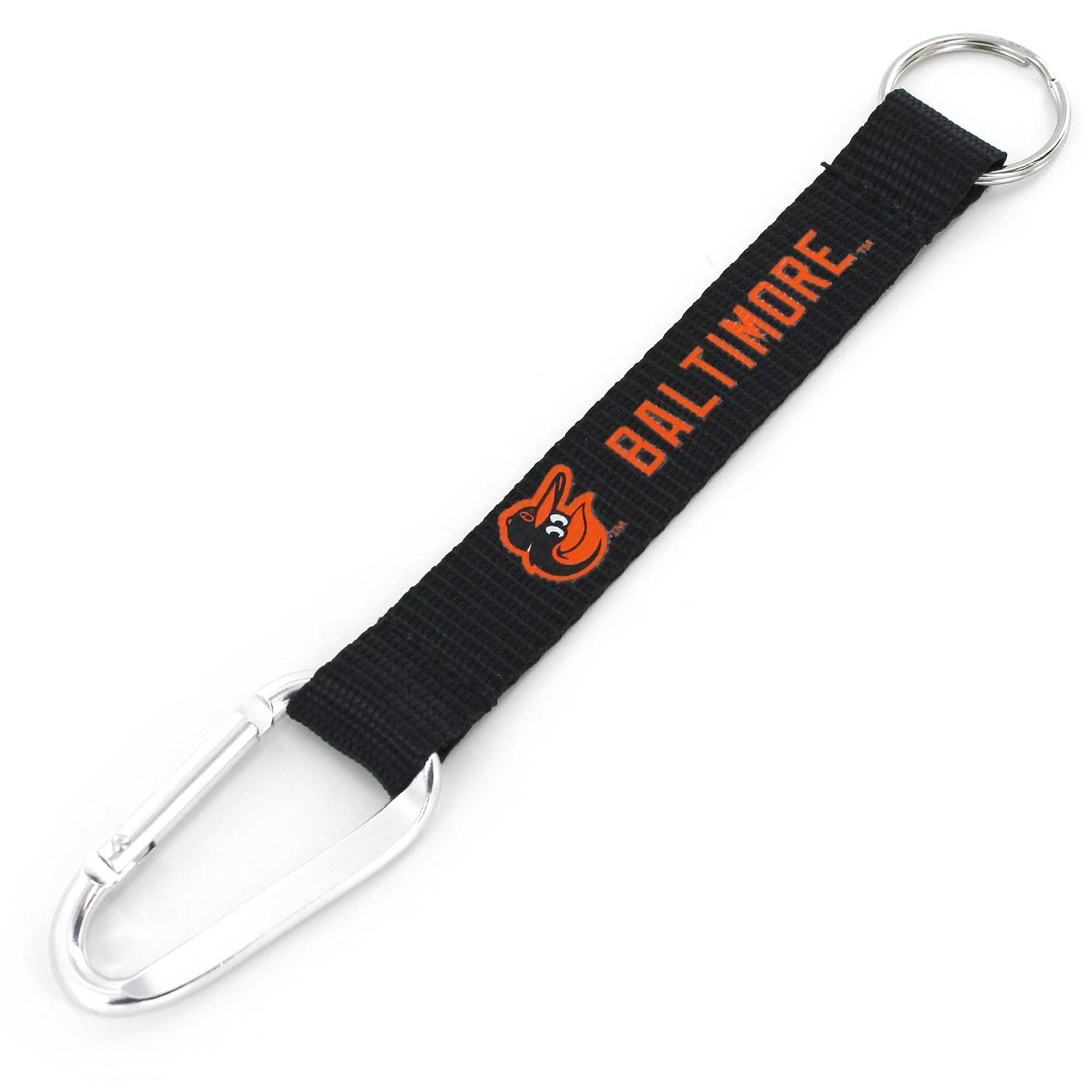 Carabiner Lanyard Key Chain Baltimore Orioles