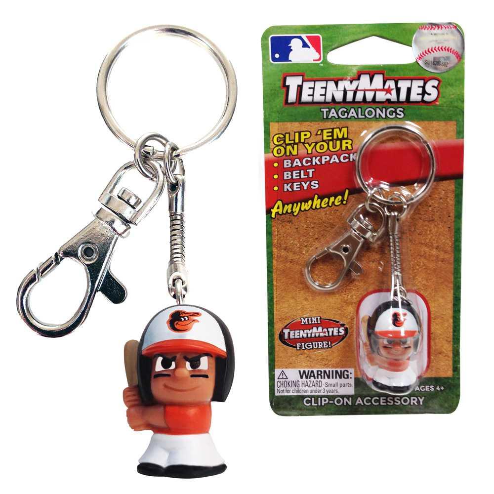 Teenymate Tagalongs Key Chain Baltimore Orioles