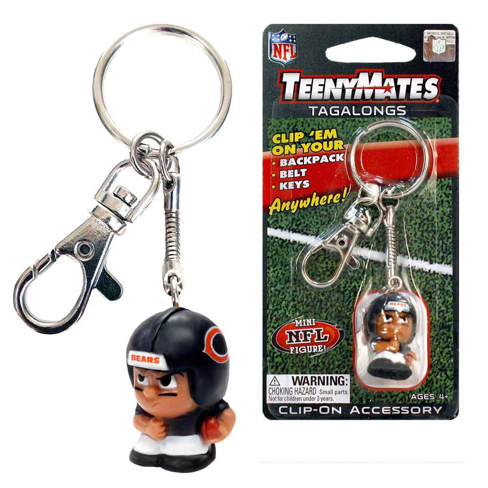 Teenymate Tagalongs Key Chain Chicago Bears