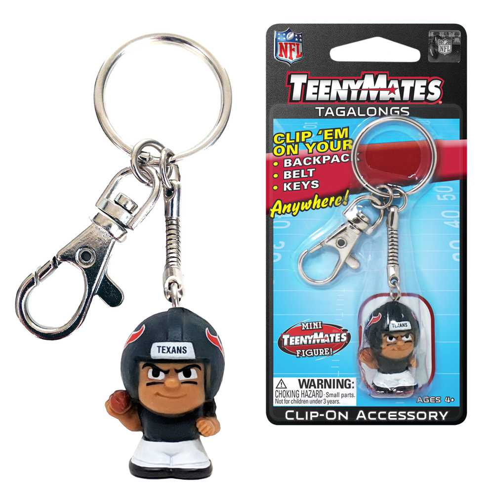 Teenymate Tagalongs Key Chain Houston Texans