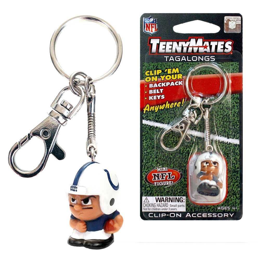 Teenymate Tagalongs Key Chain Indianapolis Colts