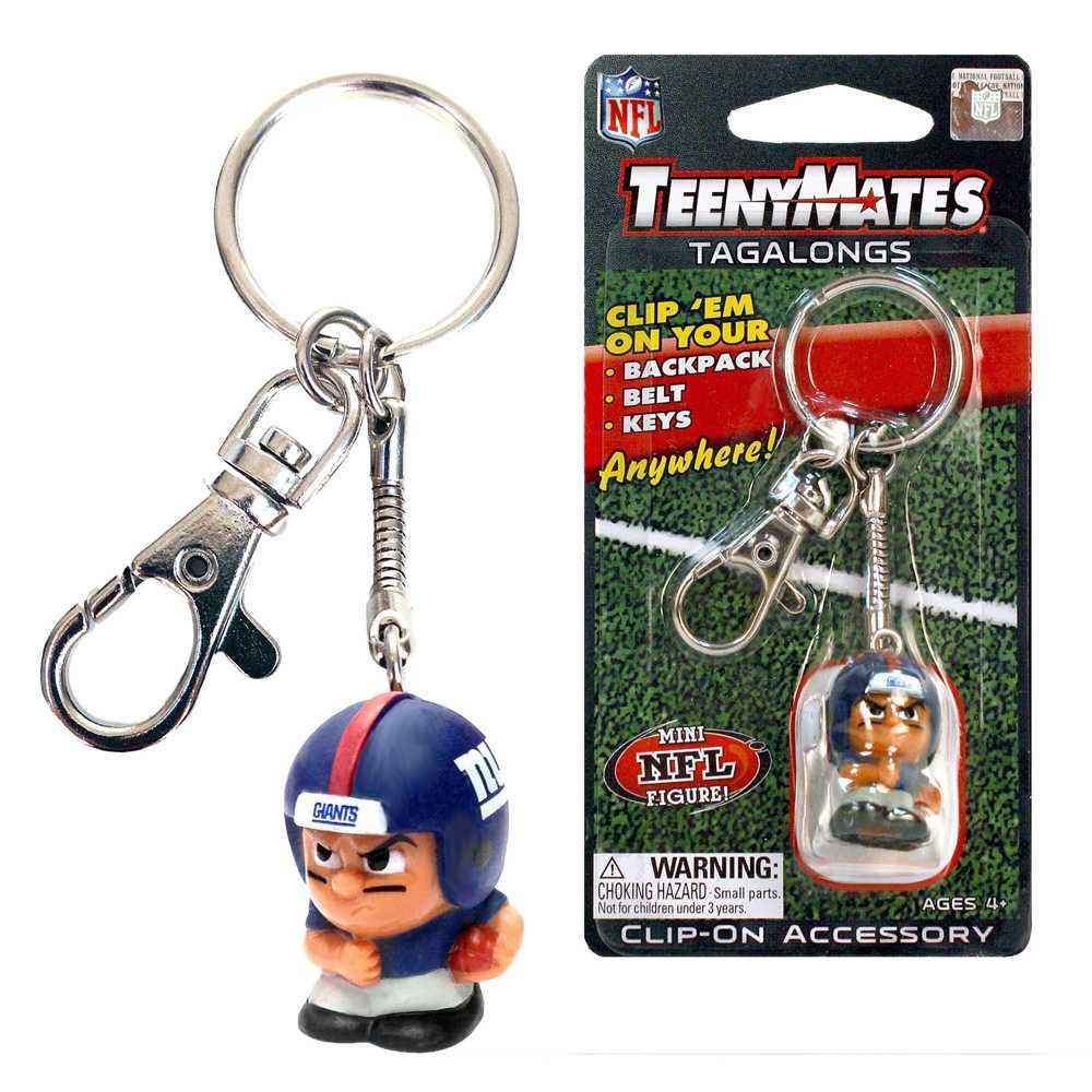 Teenymate Tagalongs Key Chain New York Giants