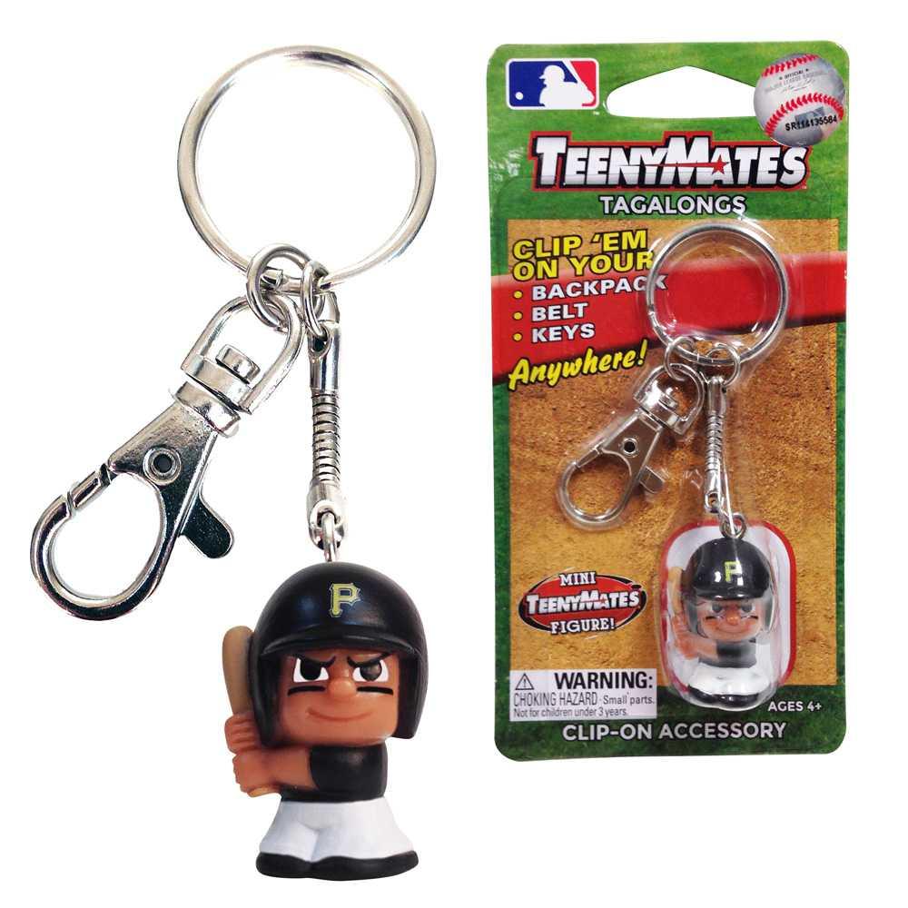 Teenymate Tagalongs Key Chain Pittsburgh Pirates
