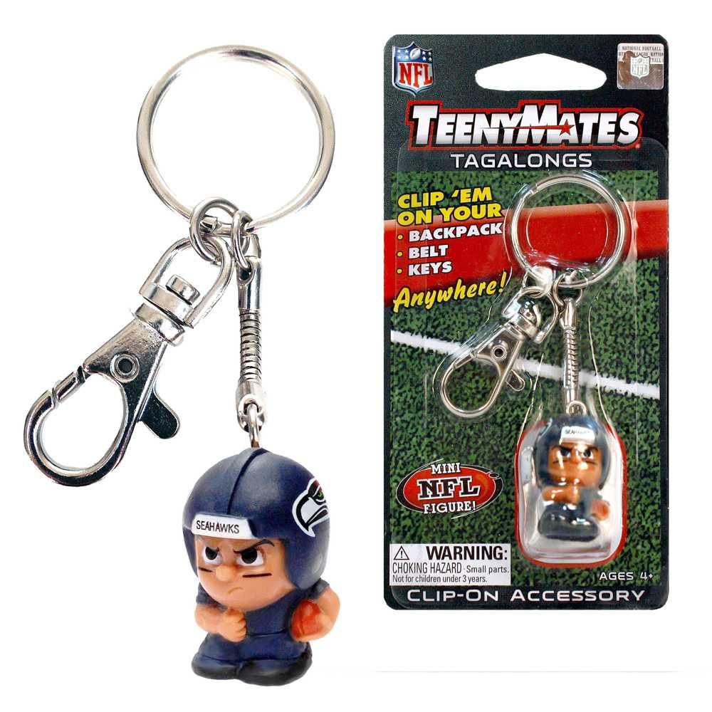 Teenymate Tagalongs Key Chain Seattle Seahawks