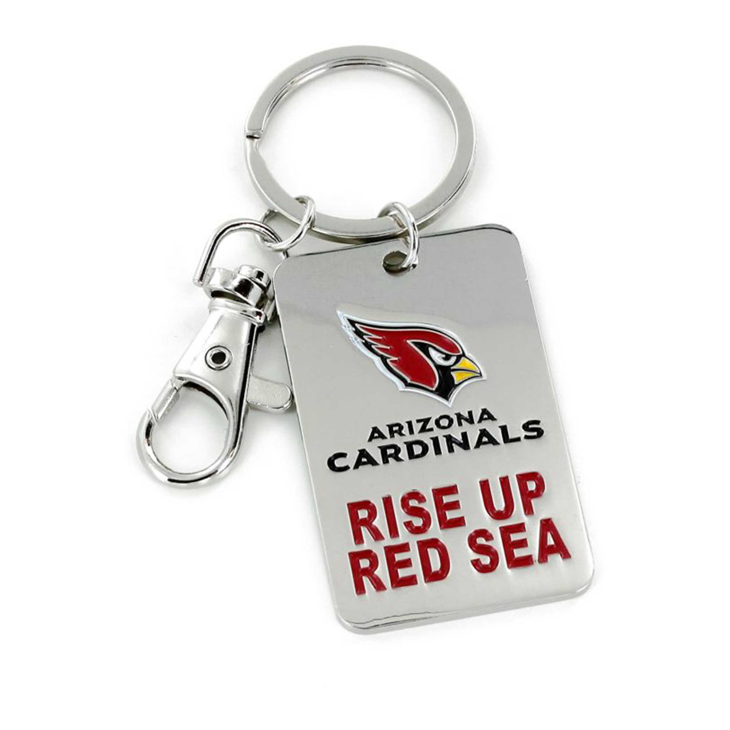Slogan Keychain Arizona Cardinals