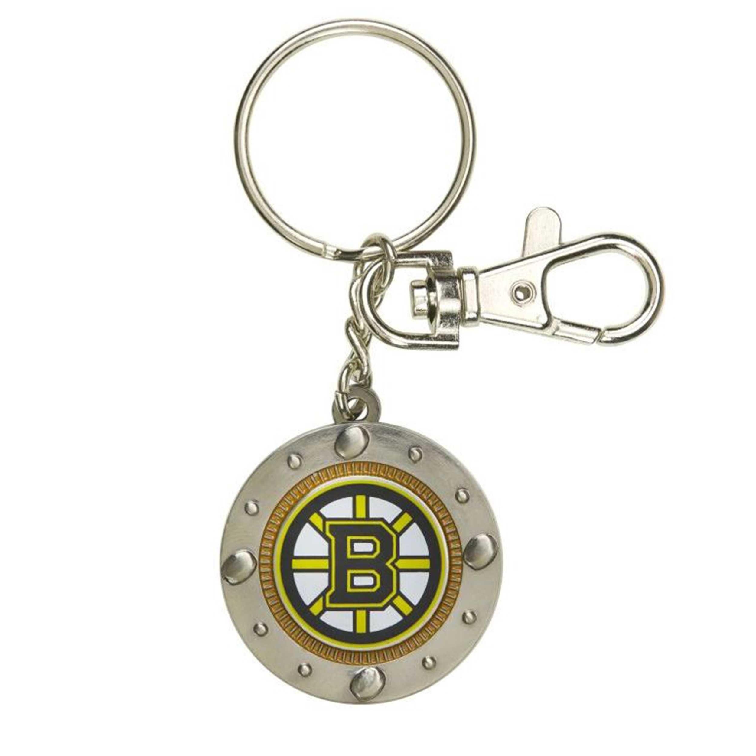 Impact Keychain Boston Bruins