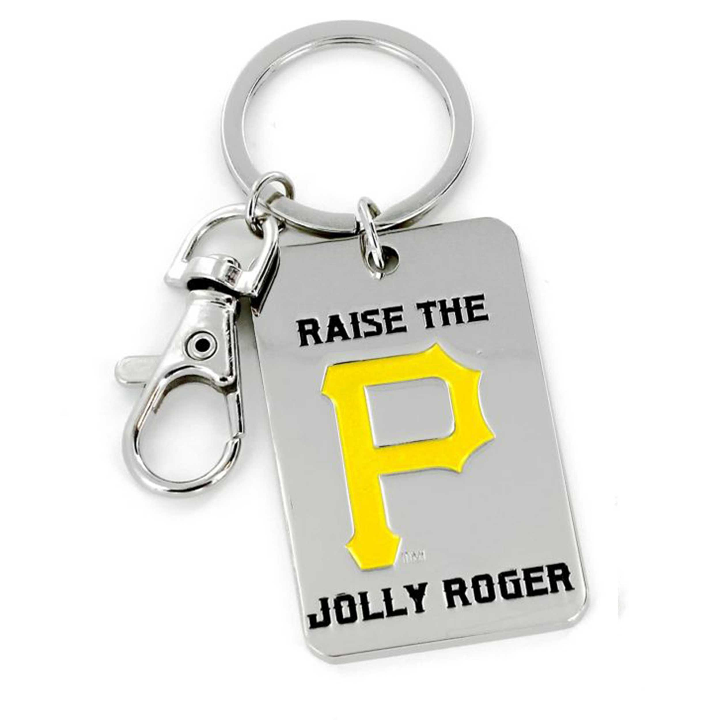 Slogan Keychain Pittsburgh Pirates