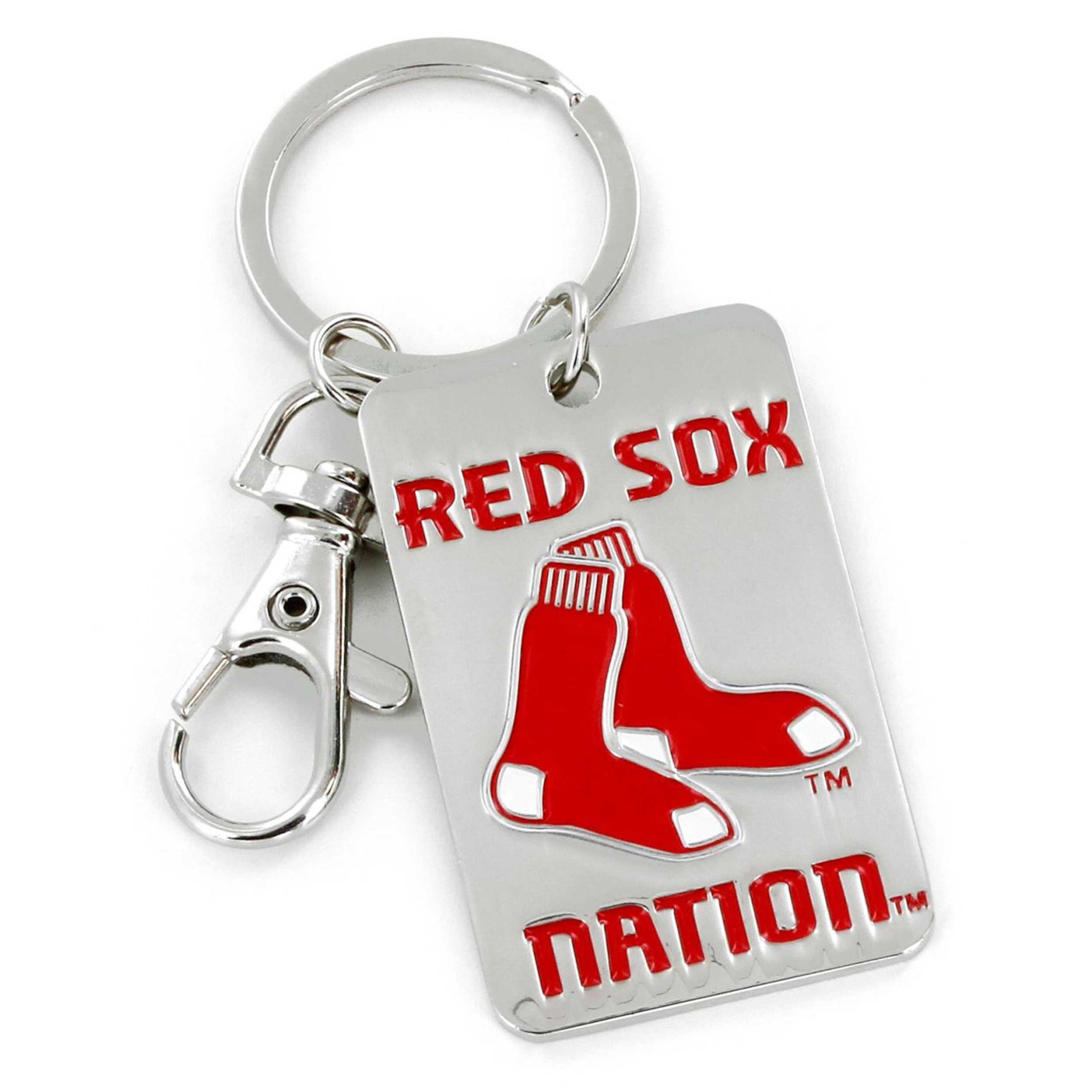 Slogan Keychain Boston Red Sox
