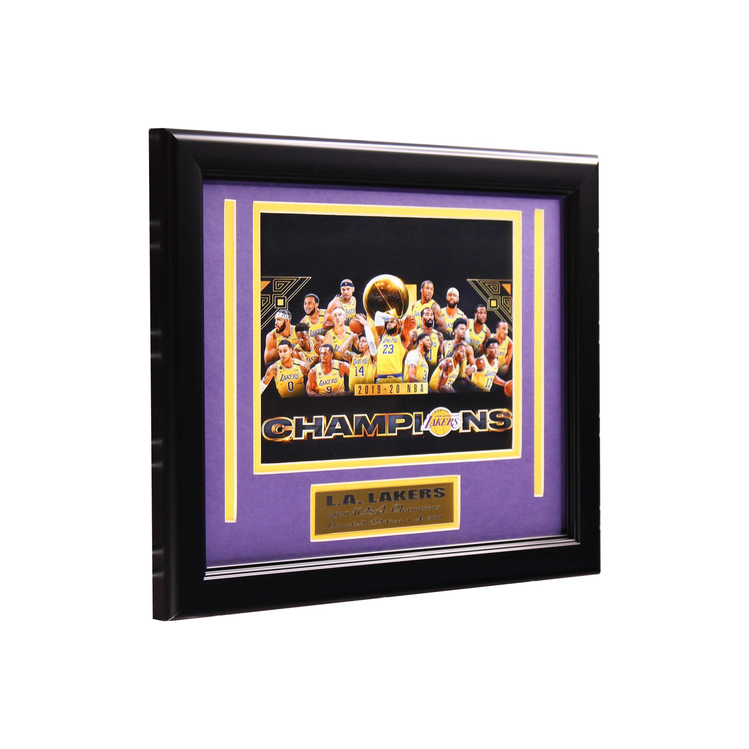 Los Angeles Lakers Championship Small Frame