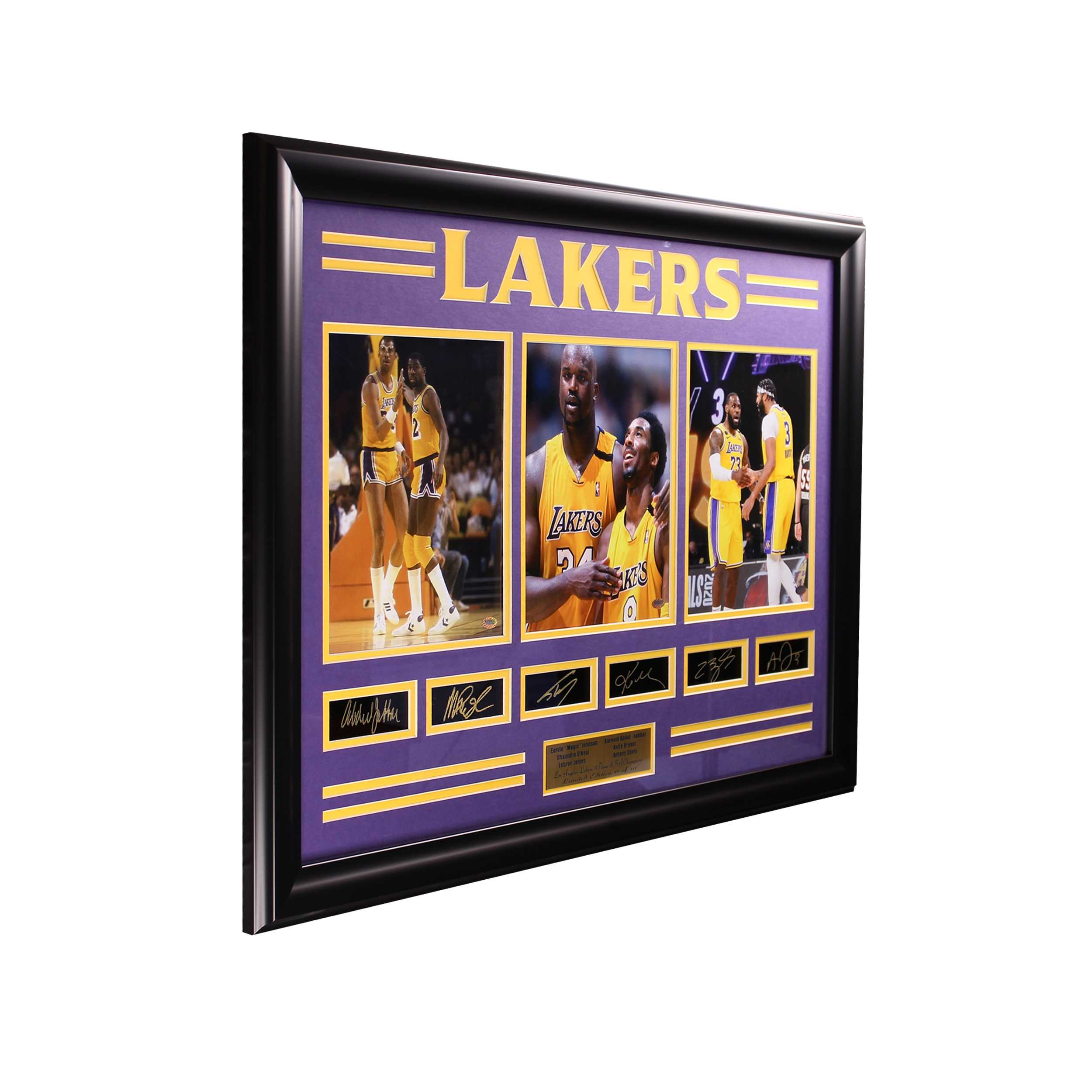 Los Angeles Lakers 17 Time NBA Champions Large Frame