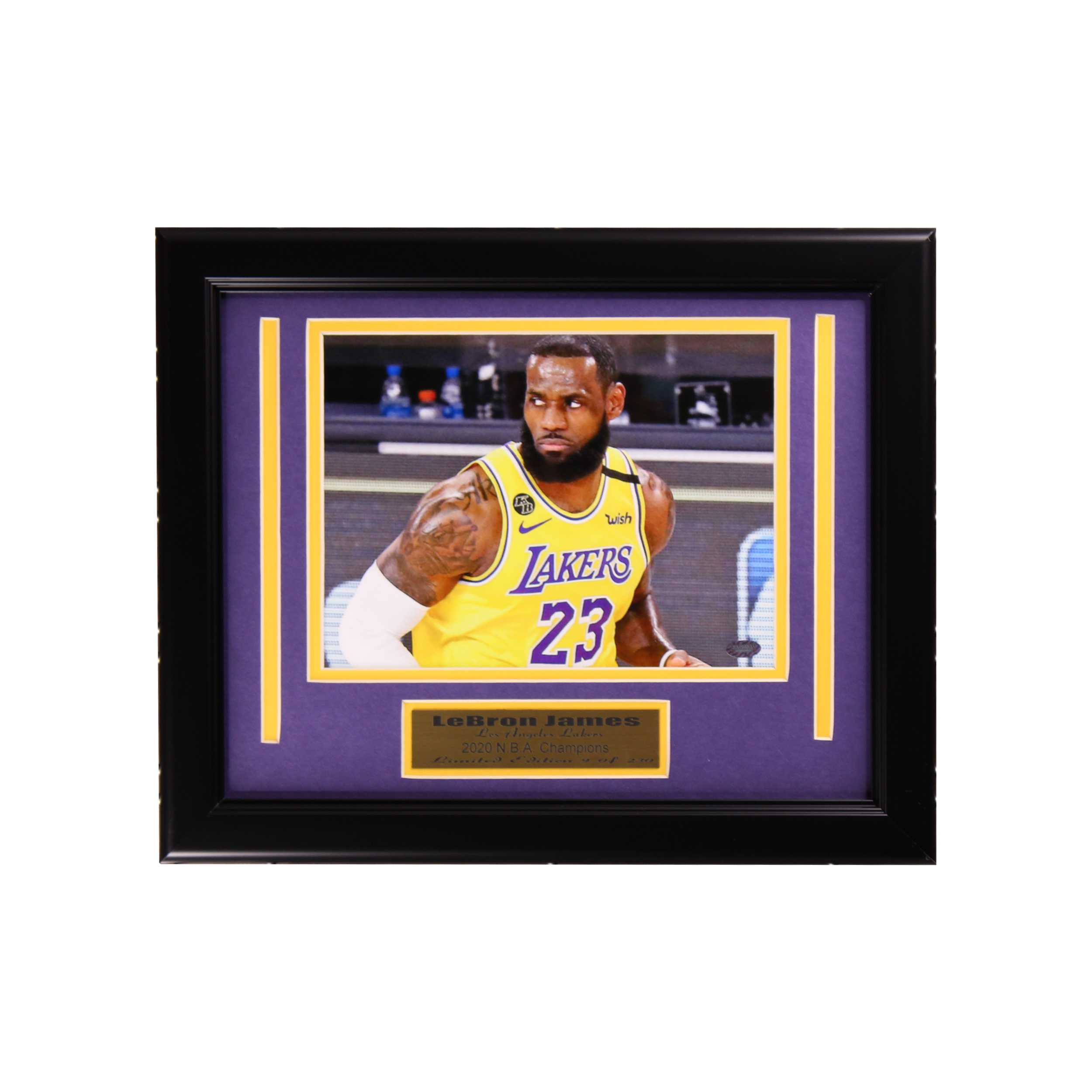 Los Angeles Lakers Championship Small Frame-Lebron James