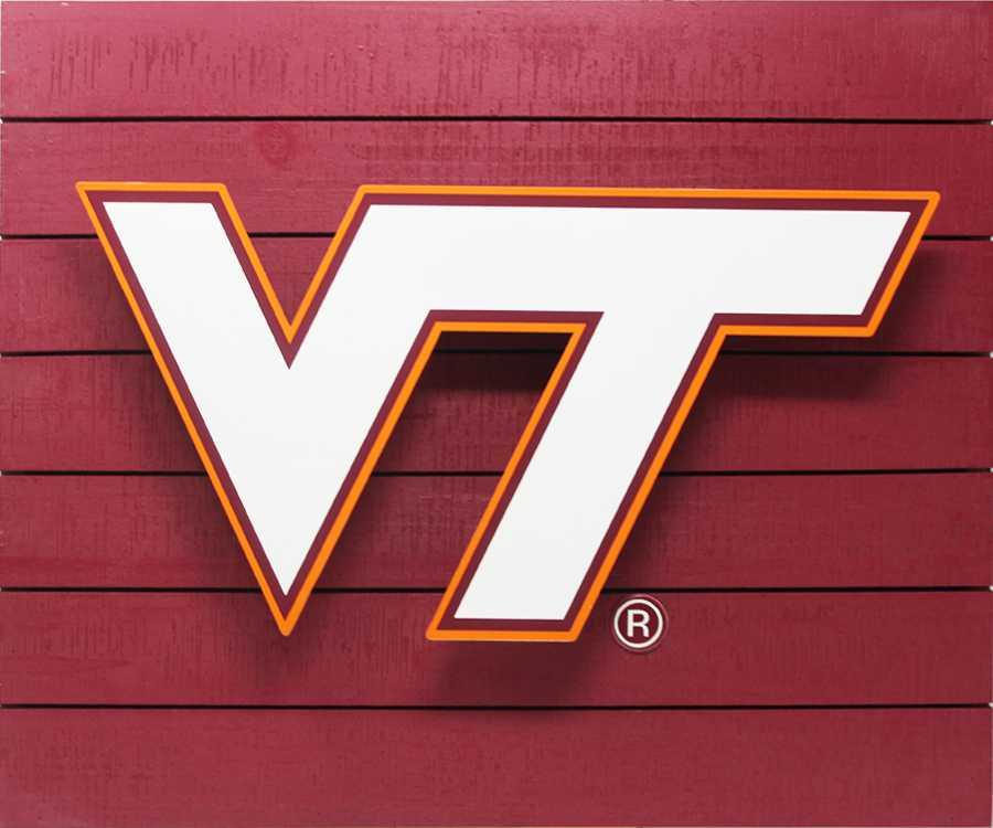 Virginia Tech 3D Lit Wall Sign