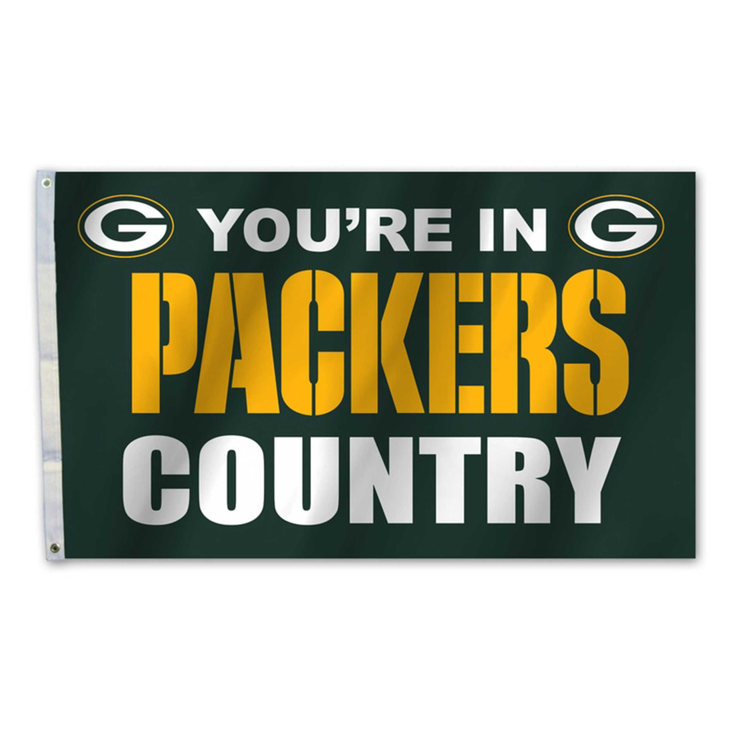 Country Flag-Green Bay Packers