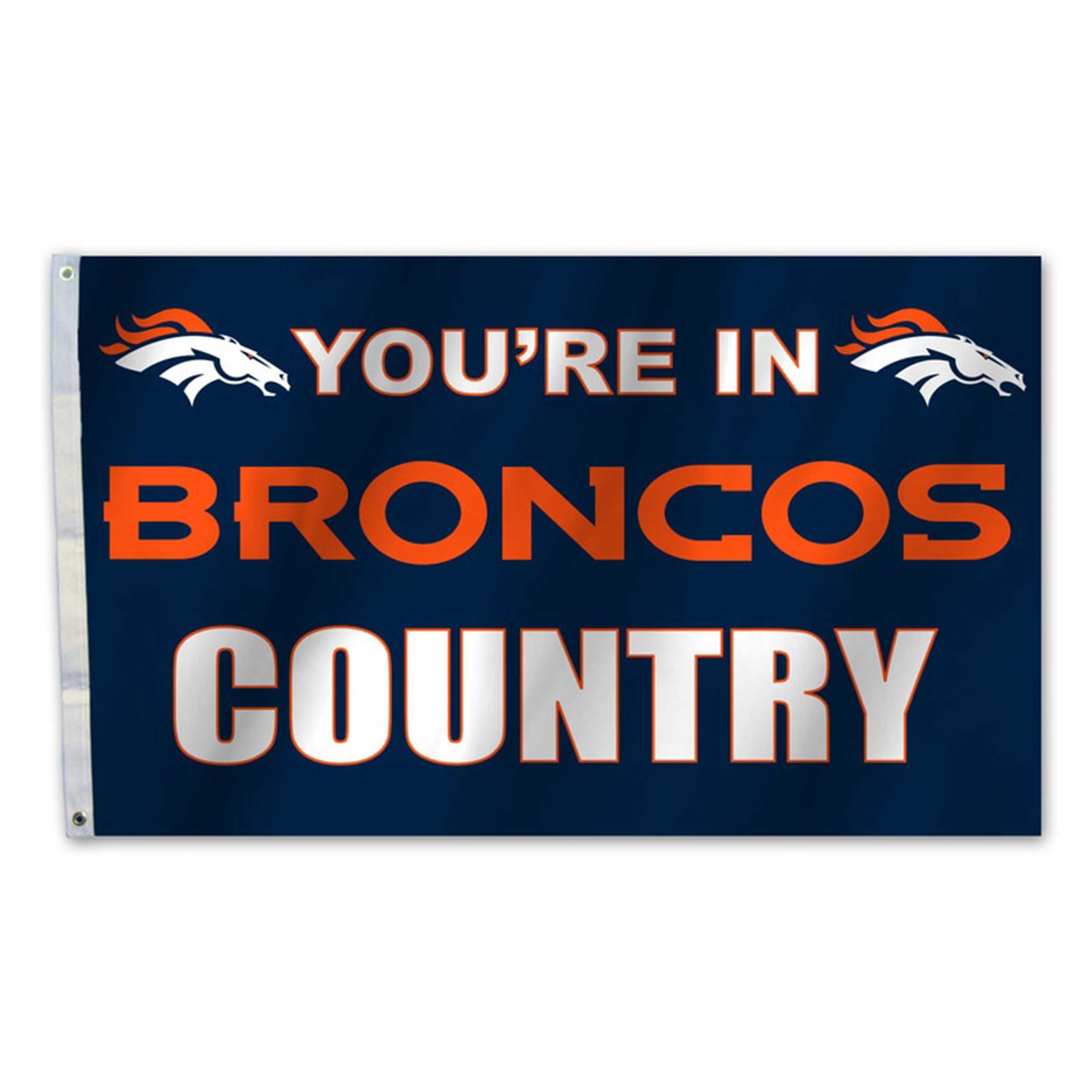 Country Flag-Denver Broncos