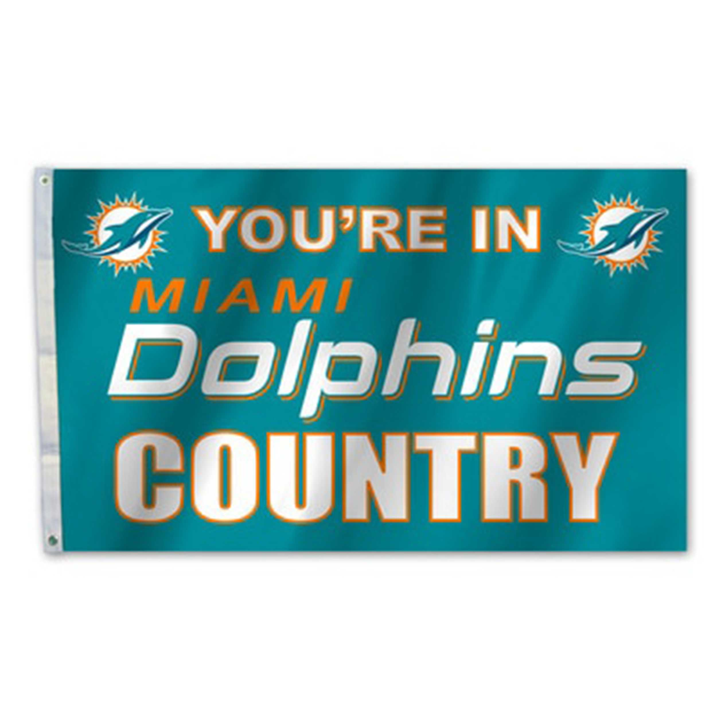 Country Flag-Miami Dolphins