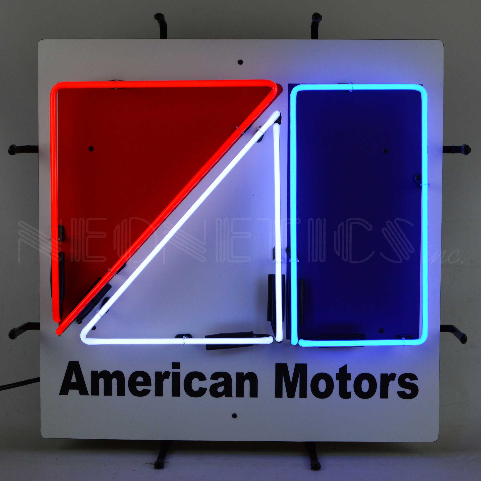 AMC NEON SIGN WITH BACKING
