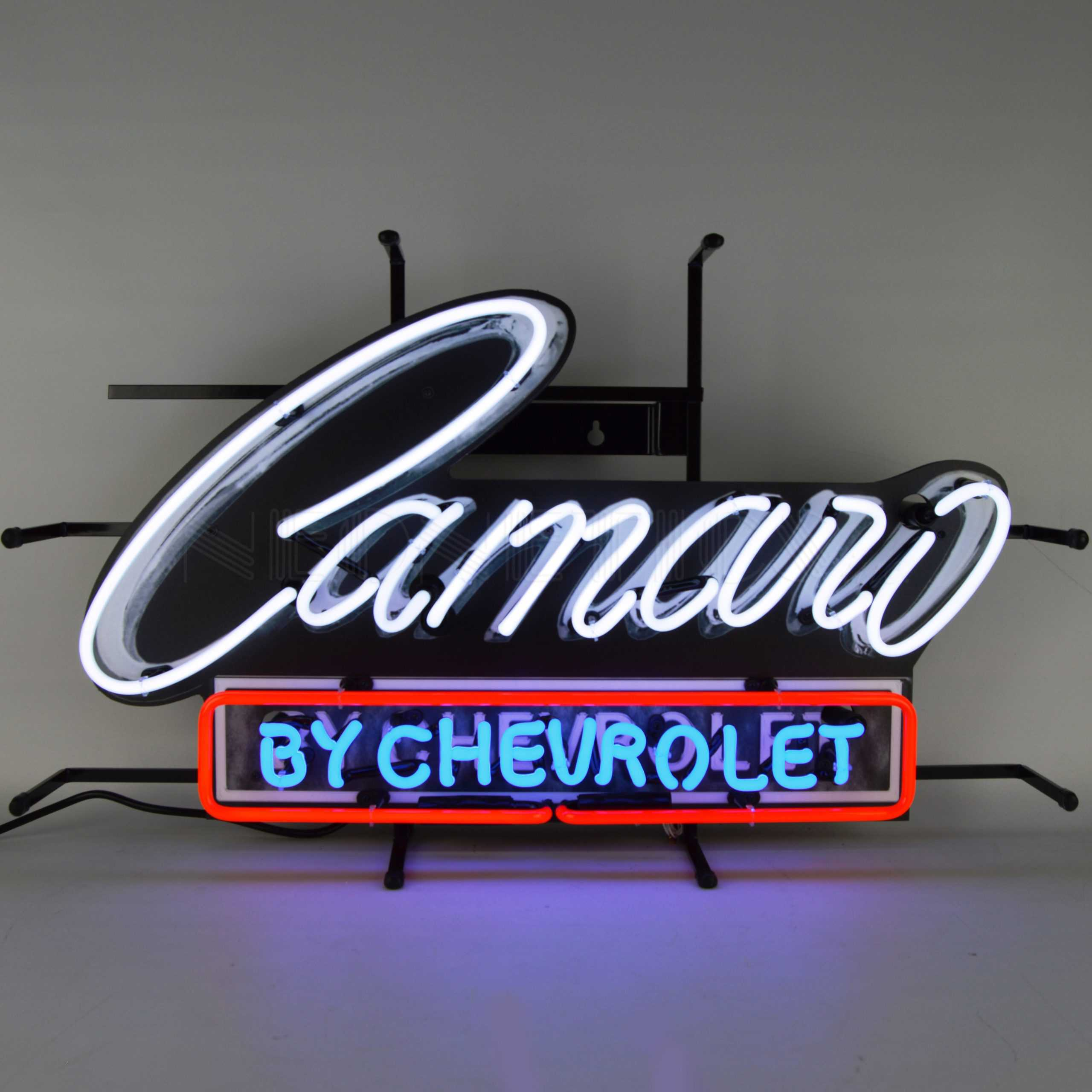 CAMARO BY CHEVROLET NEON SIGN