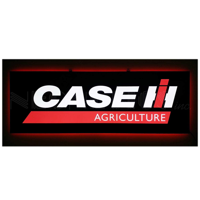 CASE IH AGRICULTURE SLIM LED SIGN